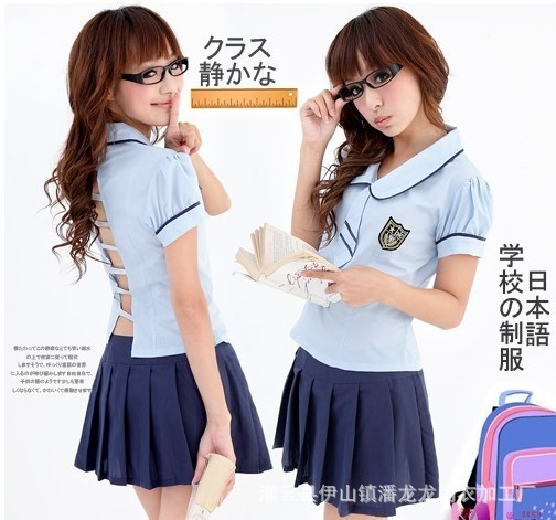 Sexy Cosplay School girl Sailor Student lingerie Sexy student uniform hot lingerie costumes for school girl erotic student cloth