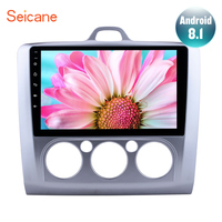 Seicane 9 2DIN Android 8.1 Car Radio Multimedia Player For Ford Focus 2 Exi MT 2004 2007 2008 2009 2010 2011 GPS Navigation