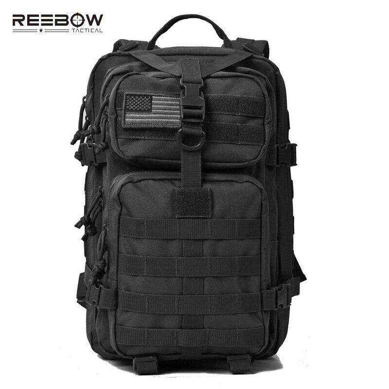 REEBOW tactique militaire assaut Pack sac à dos en plein air randonnée sacs à dos armée Molle imperméable Camping Bug Out sac sac à dos