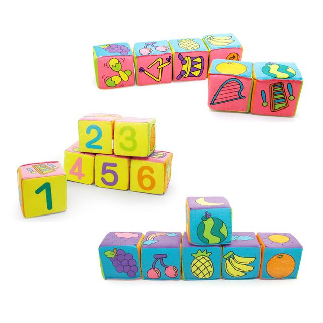 KIds Soft Blocks (6 pcs)