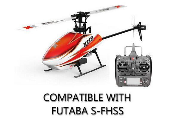 RTF RC Helicopter K110 6CH 3D 6G System Brushless Motor BNF Drone Remote Control Helicopter with Transmitter remote control toy fst3125 fst3125mx sop
