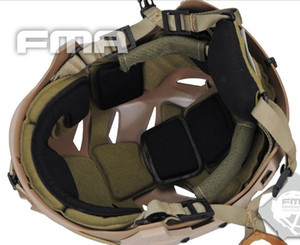 Image 5 - Sports Helmets Military NEW TB FMA BUMP EXFLL Lite Tactical Helmet Black AirsoftSports Paintball Combat Protection Free Shipping