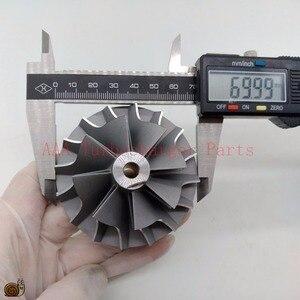 Image 5 - T04E Turbo คอมเพรสเซอร์ล้อ 48.5x70 มิลลิเมตร, ใบมีด 8/8 ผู้ผลิต AAA เทอร์โบชาร์จเจอร์