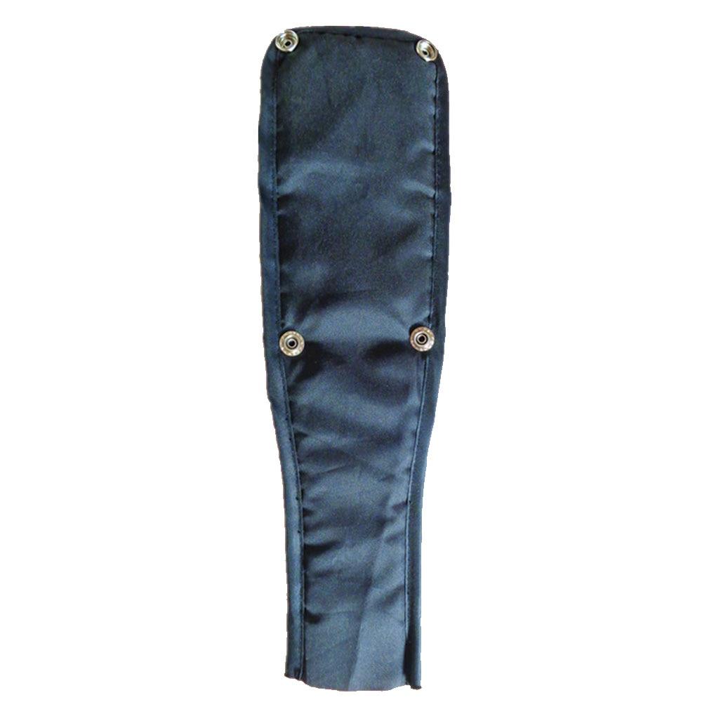 Высококачественная безопасная коляска с передним ремнем Ткань Оксфорд многоцветная Нескользящая лента бампер детская коляска бампер - Цвет: black