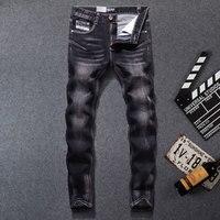 2019 New Dsel Brand men jeans,Men Fashion skinny jeans men,Men Straight Fit Leisure Quality Cotton Biker Jeans Denim,702 B