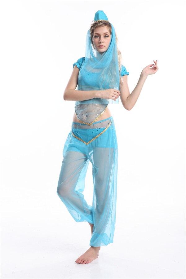 Free Shipping New Adults Plus Size Arabian Genie Princess -2107