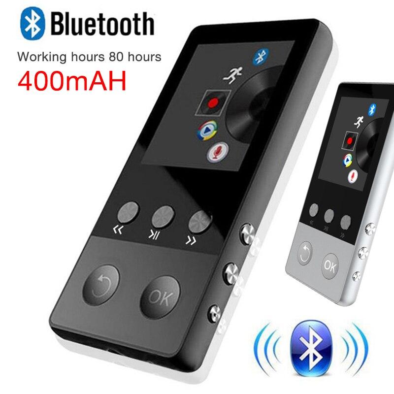 Bluetooth MP4 Lecteur 8 gb 1.8 pouce Écran FM Radio E-book Audio Vidéo Lecteur Cadeau