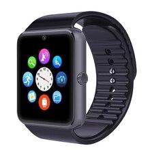 Bluetooth Smart Watch GT08 tragbare geräte Smartwatches Unterstützung Sim Karte MP3 Für Samsung Huawei Android telefon reloj inteligente