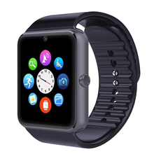 Bluetooth Smart Watch GT08 wearable devices Smartwatches Support Sim Card MP3 For Samsung Huawei Android phone reloj inteligente