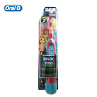 P G Oral B DB4510K Children Electric Toothbrush Boys Oral Hygiene Dental Care Girls Battery Toothbrush