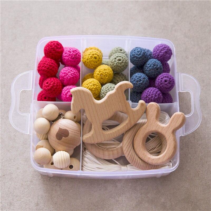 Contas De Crochê Hands-on Brinquedos Do Bebê