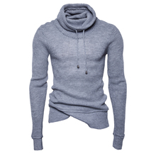 New Fashion Winter Sweater Pullover Men 2017 Male Brand Casual Slim Fit Sweaters Men Soild Color O-Neck Men'S Sweater Size M-XXL