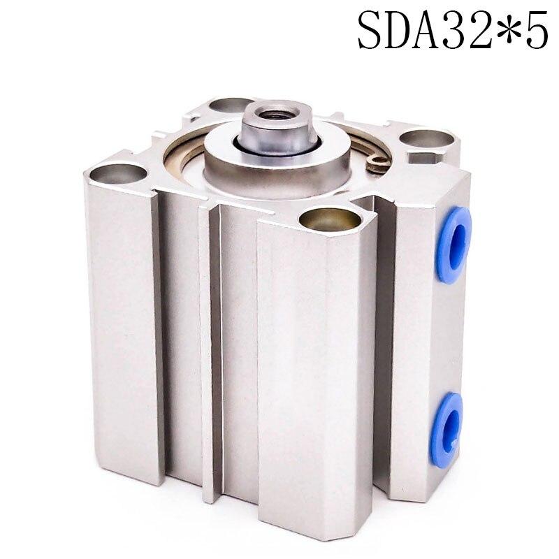 SDA32*5 Standard cylinder thin cylinder SDA Type Pneumatic Cylinder Thin Air Cylinder cylinder