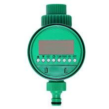 C102 Automatic Control Water Digital Timer Intelligent Electronic LCD Display Solenoid Valve Garden Irrigation Program Sprinkler g3 4 water flow control sensor meter solenoid valve gauge lcd digital display