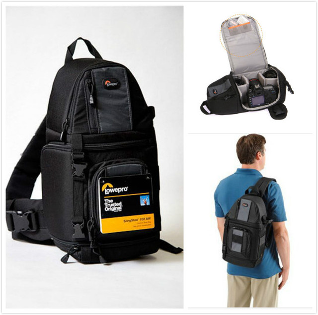 Lowepro SlingShot 102 AW : Specifications and Opinions | JuzaPhoto