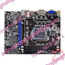 h61m-s26 Desktop Motherboard v6 h61 DDR3 LGA 1155 motherboard all solid state h61m-p31