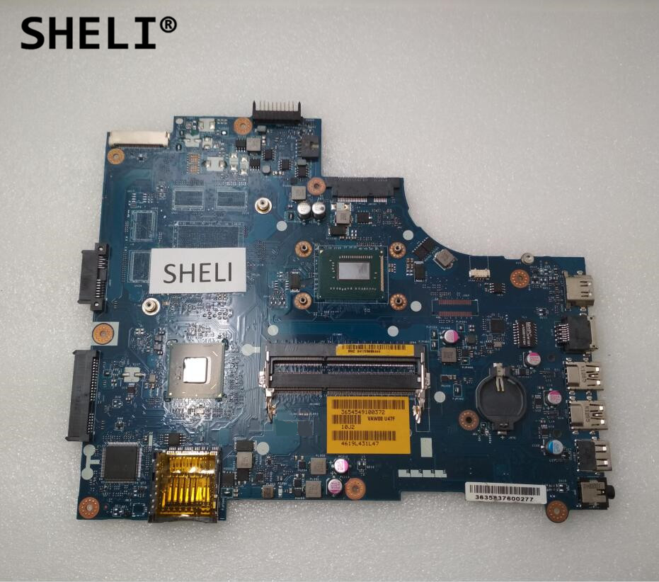 SHELI For Dell 15R 3521 5521 Motherboard with I3-3217U LA-9104P CN-0HDY2Y 0HDY2Y HDY2Y free shipping 1pcs i3 3217u sron9 sron9 i3 3217u 100% new goods in stock