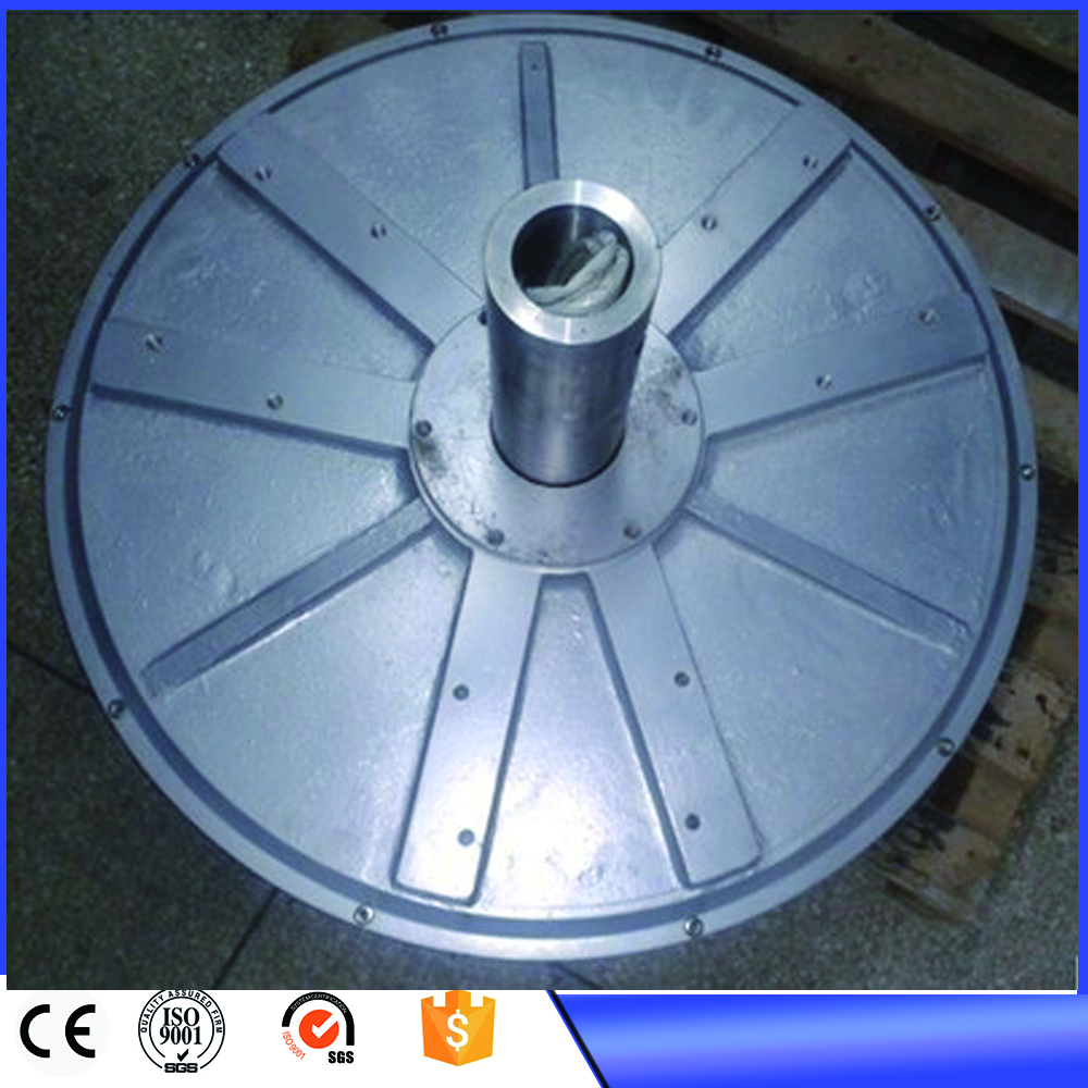 цена на 3kw 380VAC 180RPM vertical axis wind turbine disc coreless Low RPM Three Phase PMG Permanent Magnet Generator