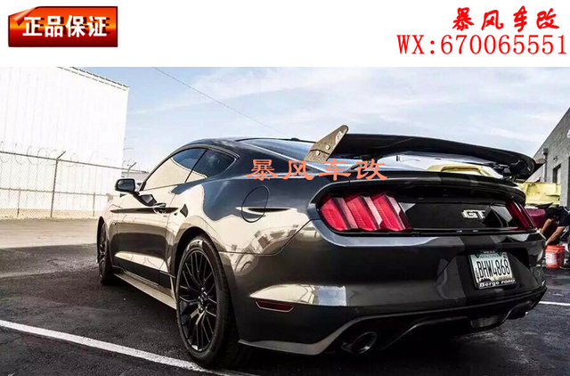 Fit For Ford Mustang Gt Carbon Fiber Rear Auto Spoiler Wing Rear Wing High Quality
