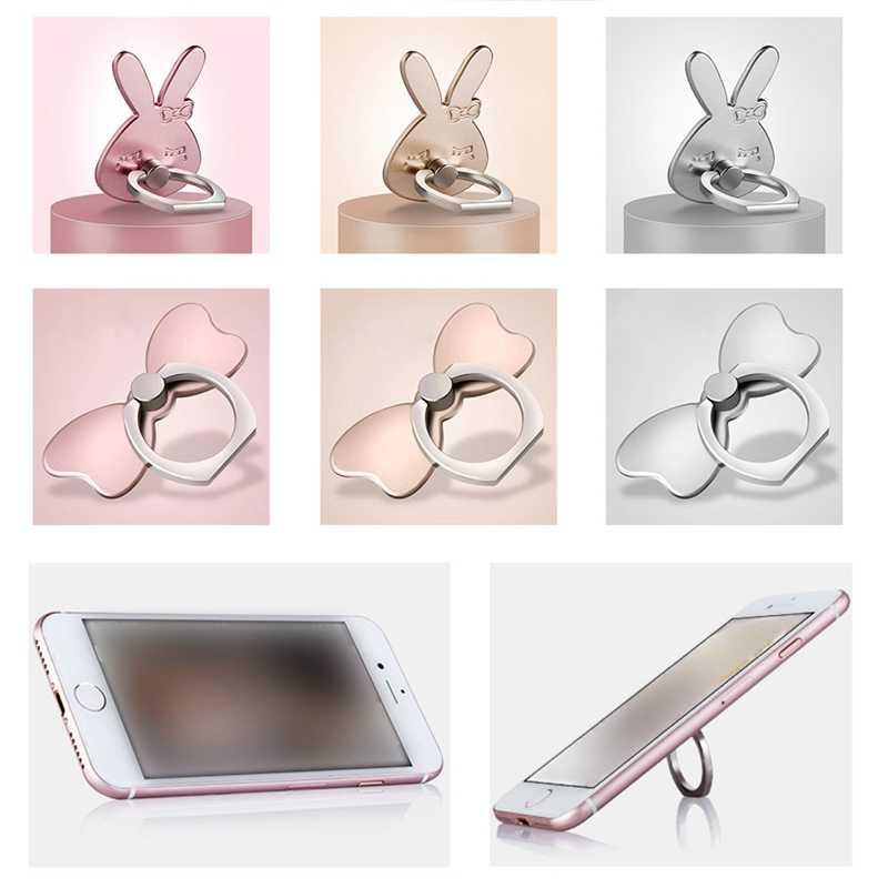 Металлический держатель для мобильного телефона Подставка для пальца кольцо для Xiaomi 8 для Iphone samsung huawei