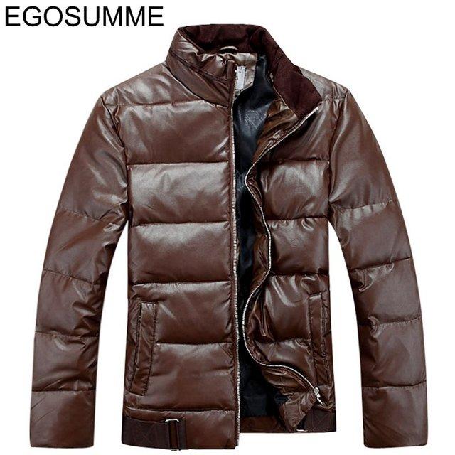 mens winter jackets and coats splice black dance wear men duck down D001