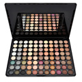 2 Sets New Eye Shadow Fashion Popular 88 Warm Matte Color Makeup Eye Shadow Palette For Party With Mirror Eyeshadow Brushe