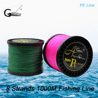 Anglers Choice Brand 1000M 1093Yards PE Braided Fishing Line 8 Strands 0 1 1 0mm Fishing