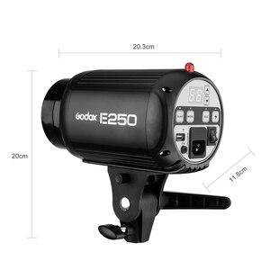 Image 3 - Godox E250 Fotoğraf Stüdyosu Strobe Fotoğraf Flaş ile kablosuz kontrol 250 W stüdyo ışığı portu ateş küçük ürünler