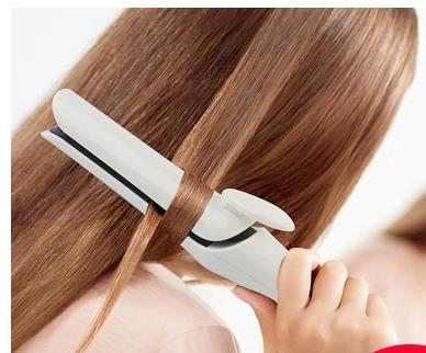 Curling iron splint straight hair curl in the dual button straight a <font><b>fan</b></font> of ironing board boutique straight hair apparatus image
