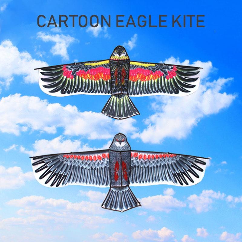 Красивые дети Орел воздушный змей полиэстер начинающих способность кайт подарки, Прямая поставка