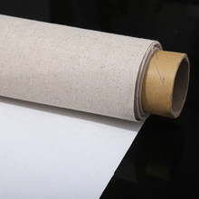5M Professional Blank Canvas For Painting Layer Acrylic Oil Painting Canvas Waterproof Linen Art Supplies For Artist One Roll(China)