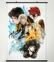 Wall Scroll Poster Painting for Blood Blockade Battlefront Main Characters 009