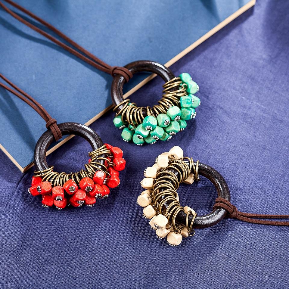 vintage kvinna smycken uttalande halsband och hängen, långa - Märkessmycken - Foto 5