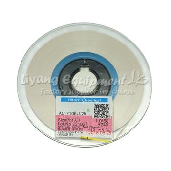 Original ACF tape AC-7206U-18 PCB Repair TAPE 2MM*50M latest Date for pulse hot press flex cable machine use original acf cp9731sb 1 2mm 50m tape new date