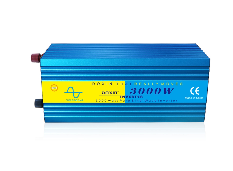 3000W DC 12V To AC 220V Solar Panle Sine Wave Inverter DC 24 To AC 110V Solar Power Inverter With 5VUSB Output Charger Converter