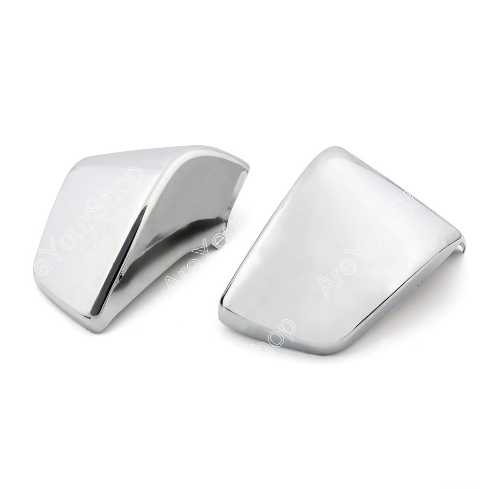 Areyourshop For Honda Shadow ACE VT400 VT750 VT750C Moto Motorcycle Battery Side Covers Fairing Cover Chrome Protector Accessory блуза finn flare finn flare mp002xw1aixf