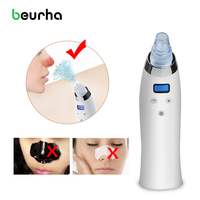 Beurha Deadskin Peeling Removal Facial Pore Cleaner Blackhead Removal Vacuum Suction Face Pores Nose Blackhead Cleaner