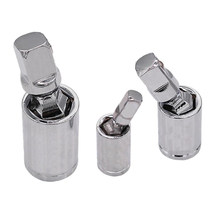 3PCS Set Swivel Impact Adapter Universal Joint Driver Socket(China)