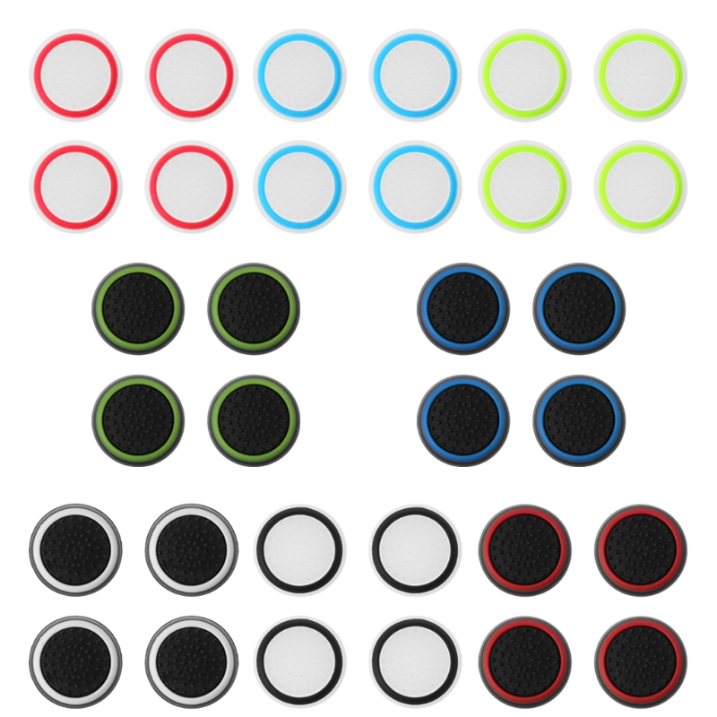 1 Set/4 Pcs Silicone Thumb Stick Grip Joystick Cap Protect Cover For PS4/PS3/PS2 Xbox Controller Joystick Cap Button Cover1 Set/4 Pcs Silicone Thumb Stick Grip Joystick Cap Protect Cover For PS4/PS3/PS2 Xbox Controller Joystick Cap Button Cover