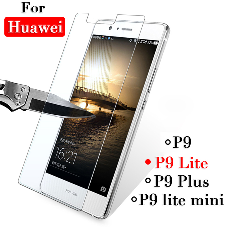 Protective <font><b>glass</b></font> on the For <font><b>huawei</b></font> <font><b>p9</b></font> <font><b>lite</b></font> p9lite mini plus p 9 9lite tempered glas screen protector <font><b>Case</b></font> tremp safety films image