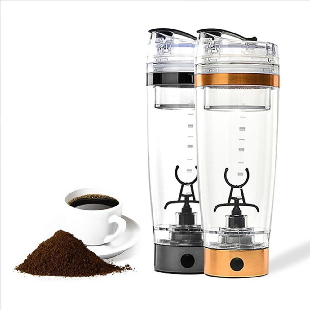 Electric Automatic Coffee Mixing Cup / Mug Drinkware Stainless Steel Cup Coffee Mug Self Stirring Tea Cup Tool High Quality creative hardware wrench design handled coffee tea mug