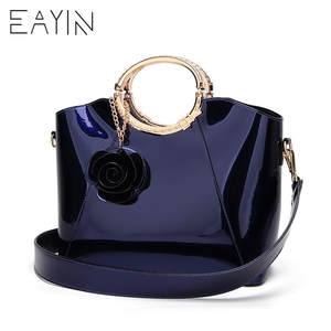 EAYIN Bags Handbags Women Famous Brands Lady s Lacquered Bag Japanned Leather  Women s Handbag Patent Tote Bags Red Handbags bce724f2ea