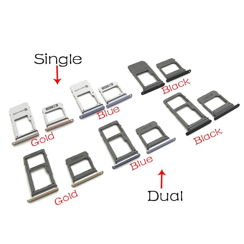 For Samsung Galaxy A8 2018 A530 Micro Nano SIM Card Holder Tray Slot Holder Adapter Socket