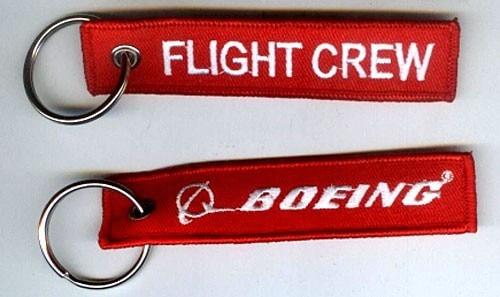 Кольцо для ключей с вышивкой Boeing Flight Crew
