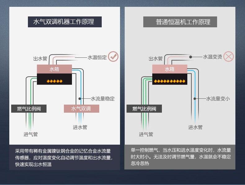 JSQ24-H1 12L внутренний постоянный Природный сжиженный газ водонагреватель сильный выхлопной Газ водонагреватель машина настенный