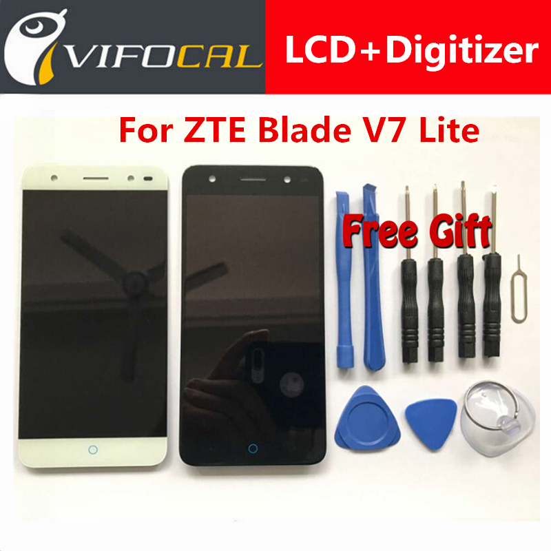 ZTE Blade V7 Lite LCD Display + Touch screen Test Good Digitizer Assembly Replacement For ZTE Blade V7 Lite 5.0 inch Phone for zte blade a610 lcd display touch screen 100