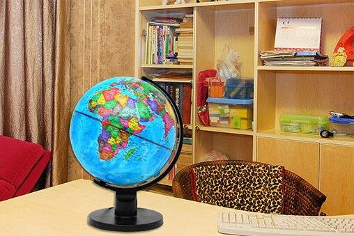 ФОТО diameter 25CM Hd lamp globes Teach students dedicated Birthday gift toys for children