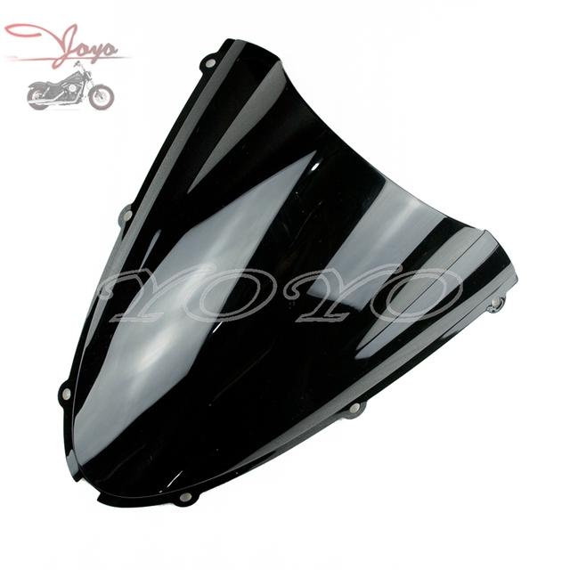 Motocicleta Plástico ABS Windscreen Windshield Para ZX-6R ZX6R 2006-2008 ZX10R ZX-10R 2006 Ninja 2007