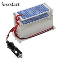 Kbxstart Portable DC 12v 10g Ozone Generator Car Air Purifier Ozonizer Cleaning Ozone Ceramic Plate Air Sterilizer Car Charger