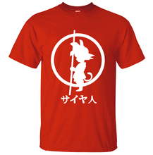 Dragon Ball Z T Shirts Summer Short Sleeve 100% Cotton T-Shirts